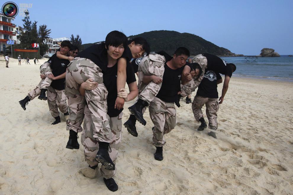 pic 0093 Как готовят телохранителей в Китае
