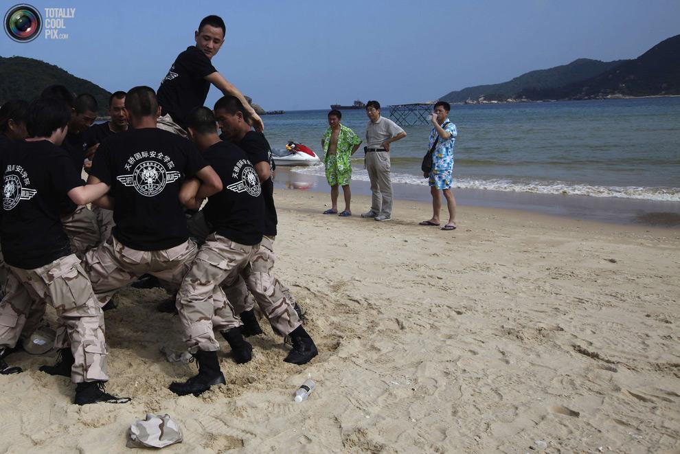 pic 0123 Как готовят телохранителей в Китае
