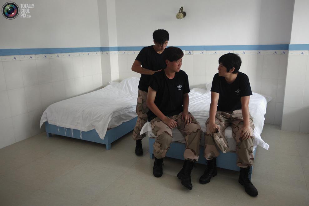 pic 0133 Как готовят телохранителей в Китае