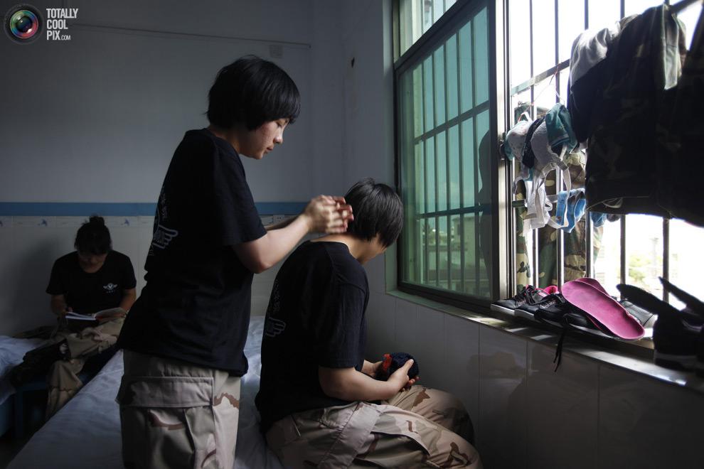 pic 0143 Как готовят телохранителей в Китае