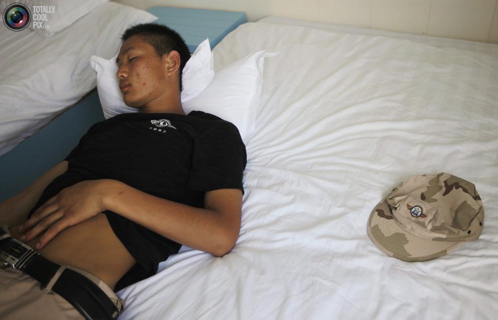pic 0153 Как готовят телохранителей в Китае