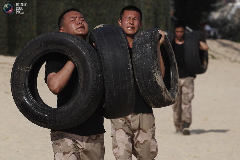 pic 0193 Как готовят телохранителей в Китае