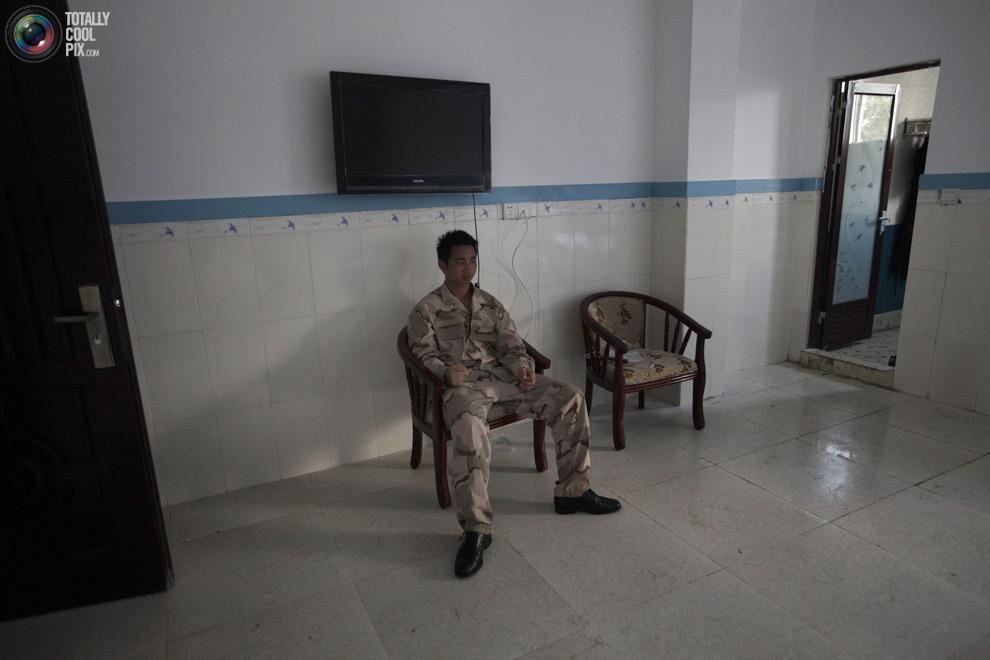 pic 0223 Как готовят телохранителей в Китае