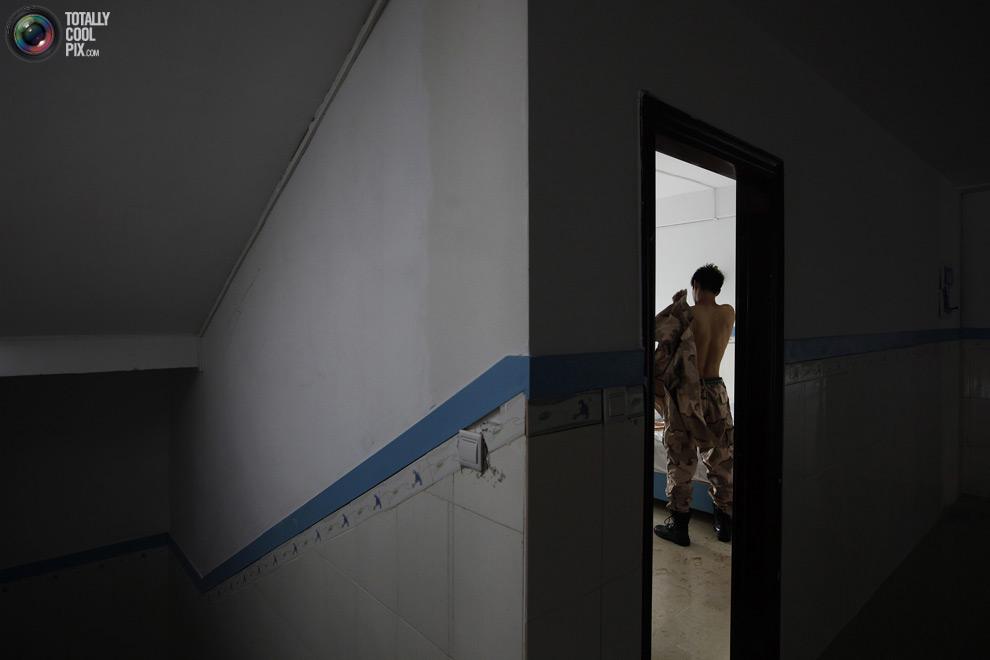pic 0233 Как готовят телохранителей в Китае