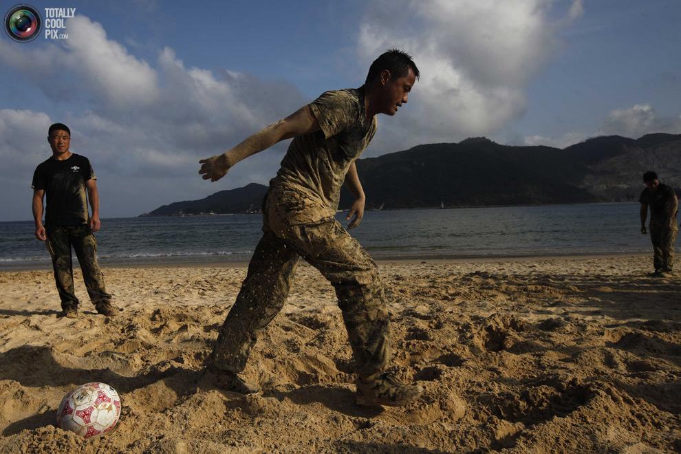 pic 0253 Как готовят телохранителей в Китае