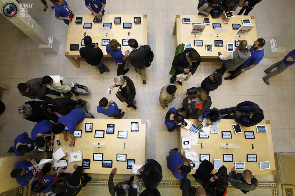 pic 0260 Новый iPad 3 вызвал ажиотаж во всем мире