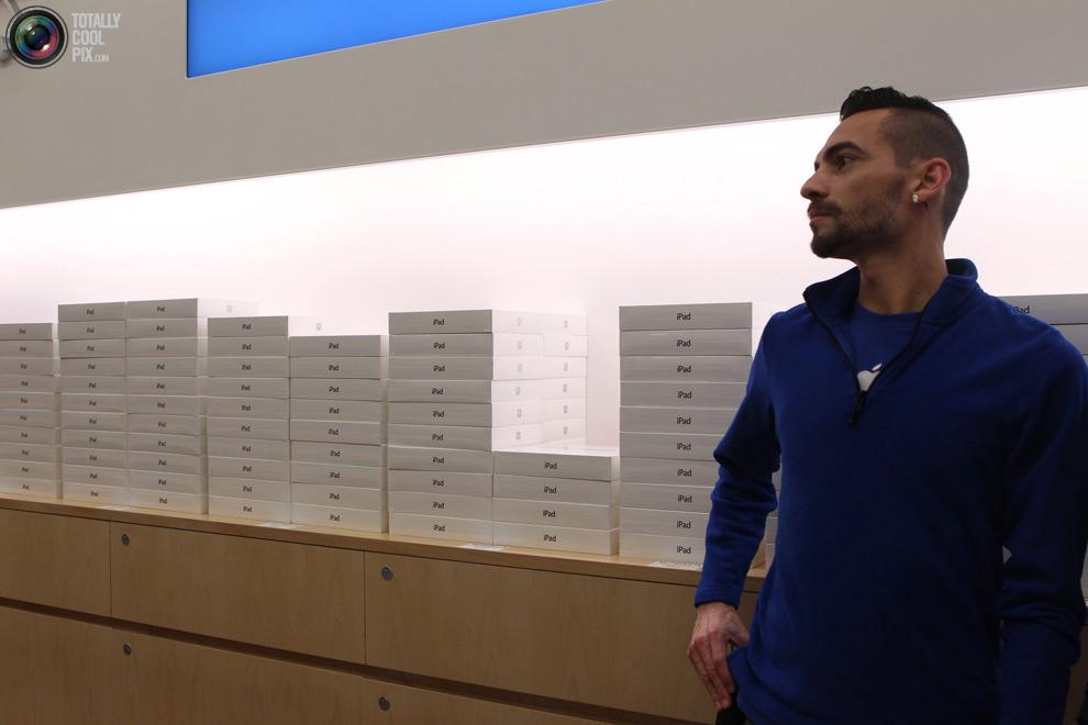 pic 0380 Новый iPad 3 вызвал ажиотаж во всем мире