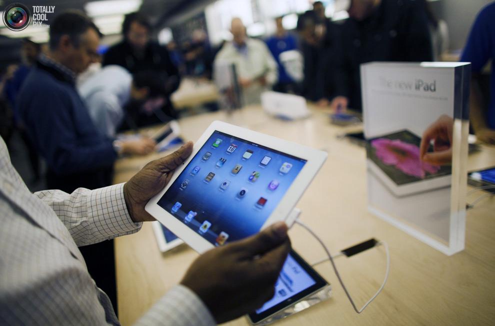 pic 0450 Новый iPad 3 вызвал ажиотаж во всем мире