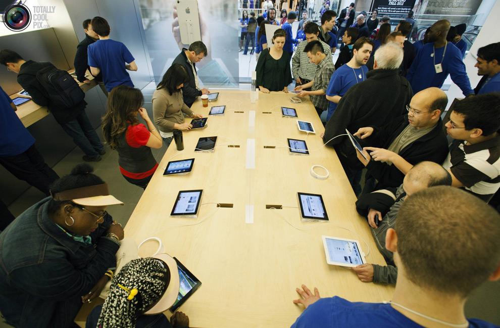 pic 0480 Новый iPad 3 вызвал ажиотаж во всем мире