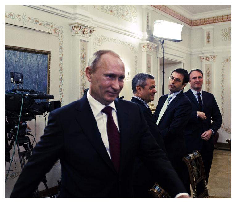 putin04 Ужин с Владимиром Путиным