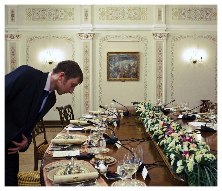 putin05 Ужин с Владимиром Путиным