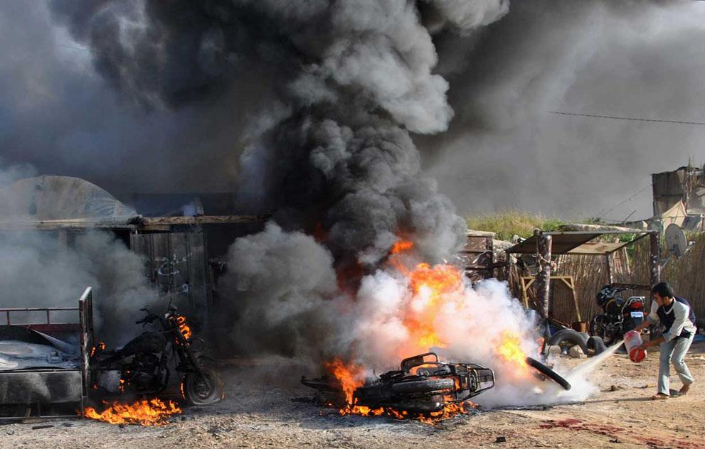 Израиль и Сектор Газа — обострение конфликта