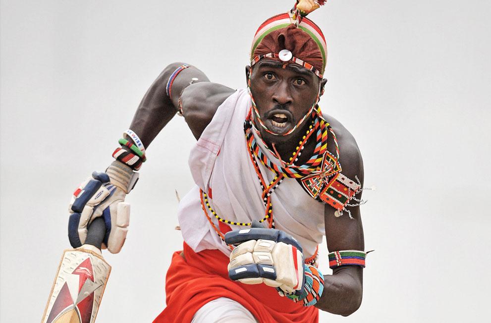 s m11 40839632 Команда по крикету из племени масаи