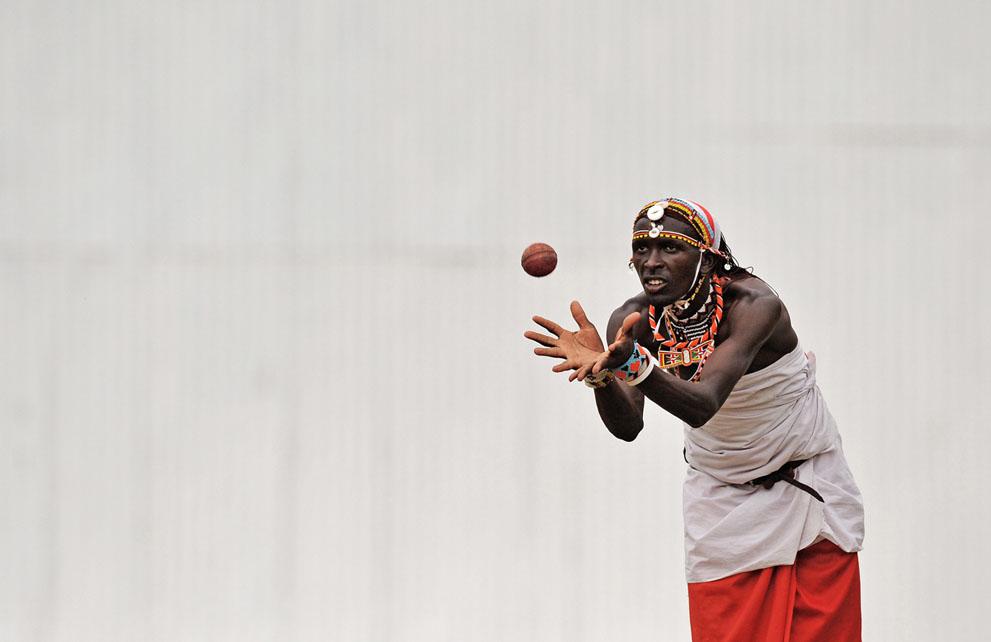 s m15 41015099 Команда по крикету из племени масаи