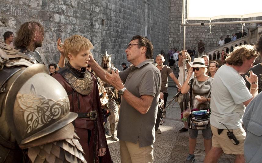 012 Игра престолов: фото со съёмочной площадки второго сезона