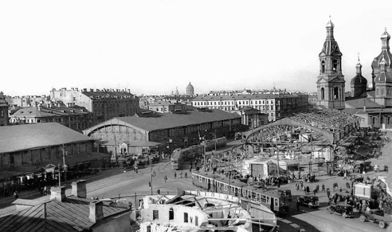 0121 Подборка старых фотографий Санкт Петербурга