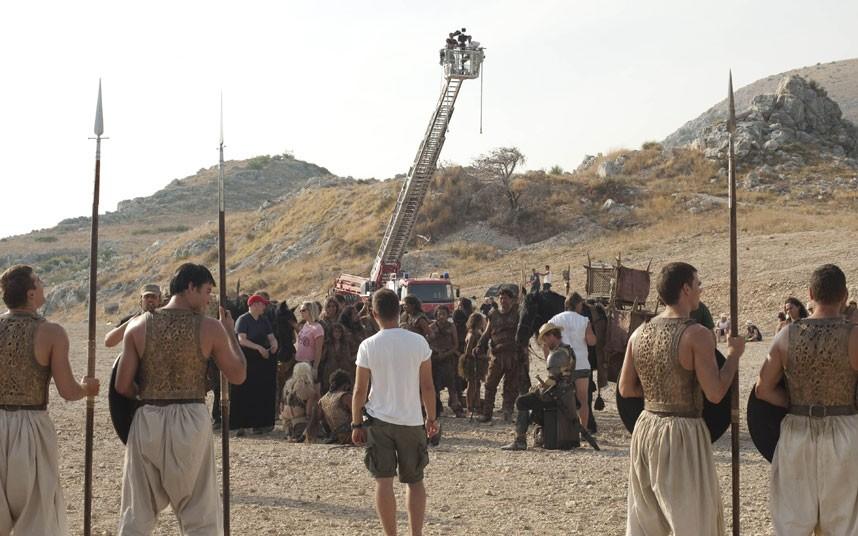 052 Игра престолов: фото со съёмочной площадки второго сезона