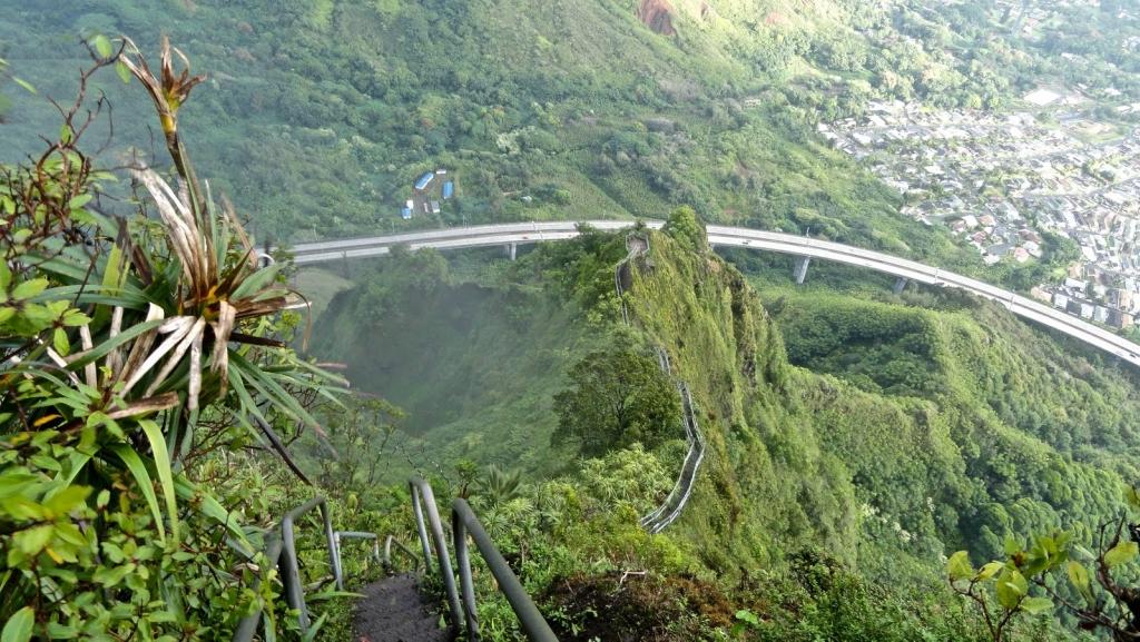 10116 Лестница Хайку на Гаваях