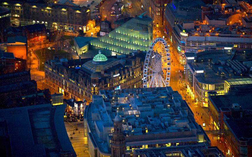 1028 Британские города с воздуха