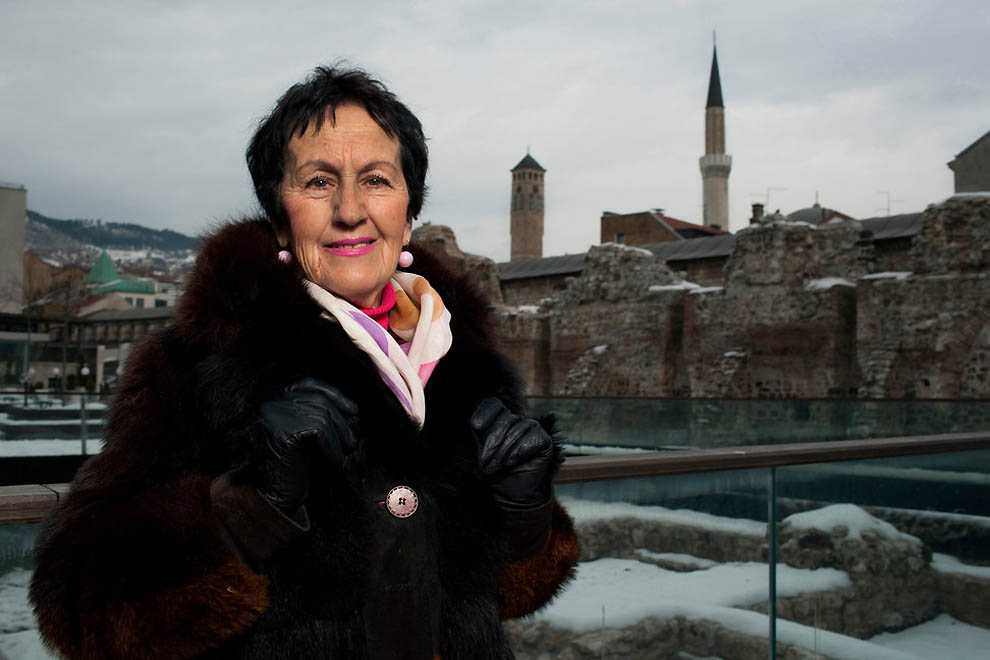 1058 Женщины Сараево тогда и сейчас
