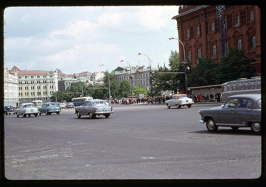 1062 Москва 1969 года в объективе американского фотографа