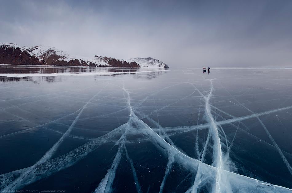 11104 Тонкие струны Байкала или 400 км на коньках
