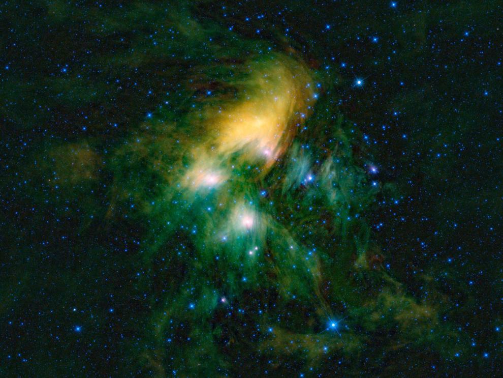 11120 Космос в тепловых лучах