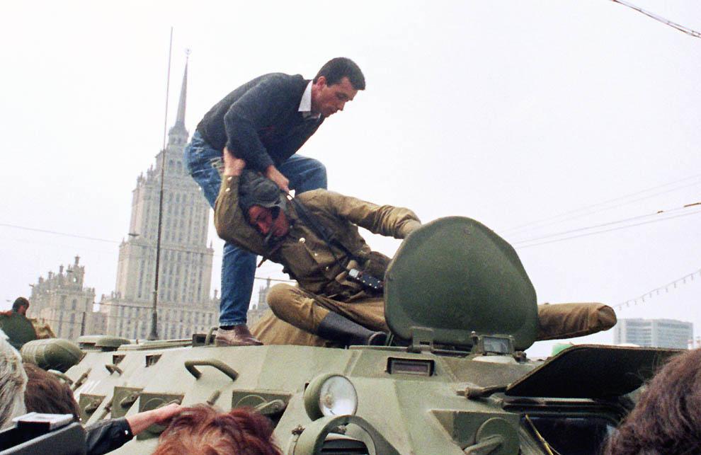 11124 Самые яркие кадры последних месяцев существования СССР