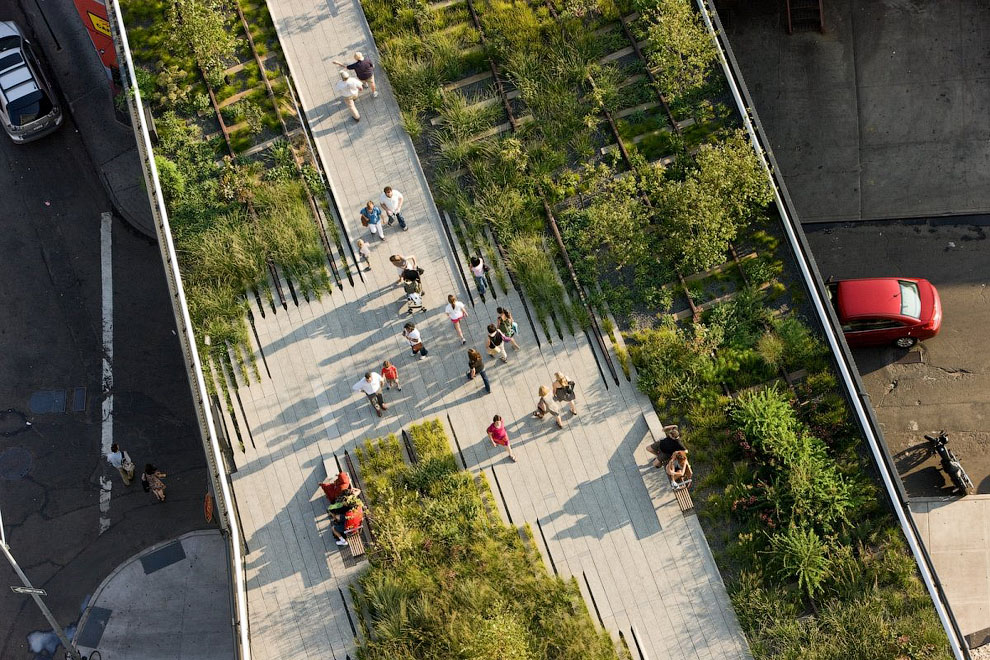 11149 Хай Лайн   зеленый оазис в Нью Йорке