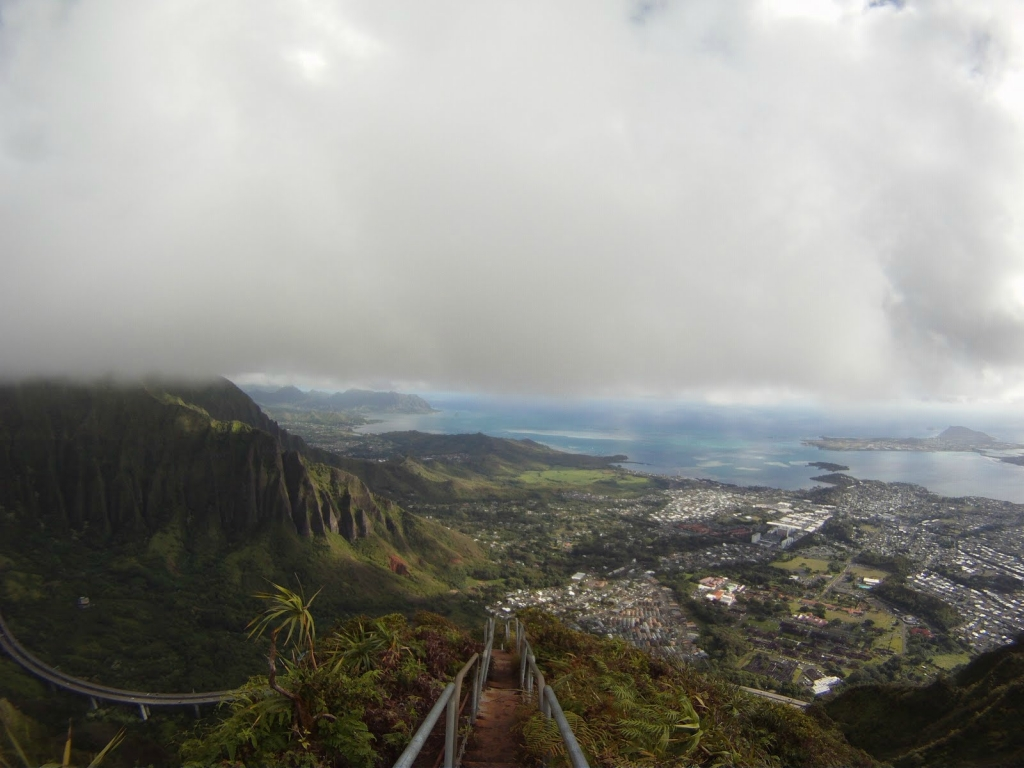 11151 Лестница Хайку на Гаваях