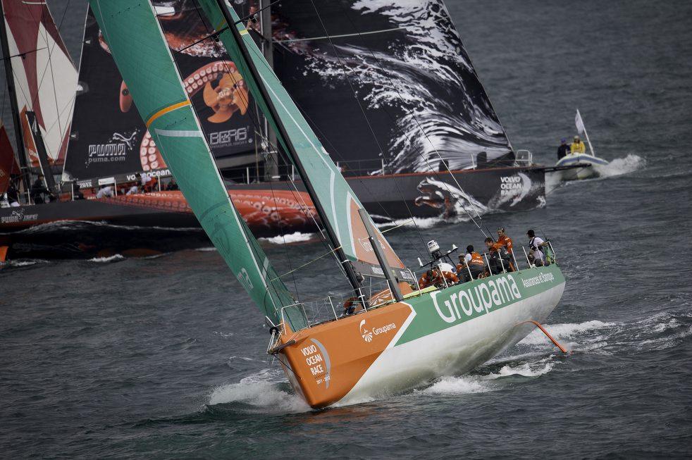 11162 Кругосветная регата «Volvo Ocean Race» направляется в Майями