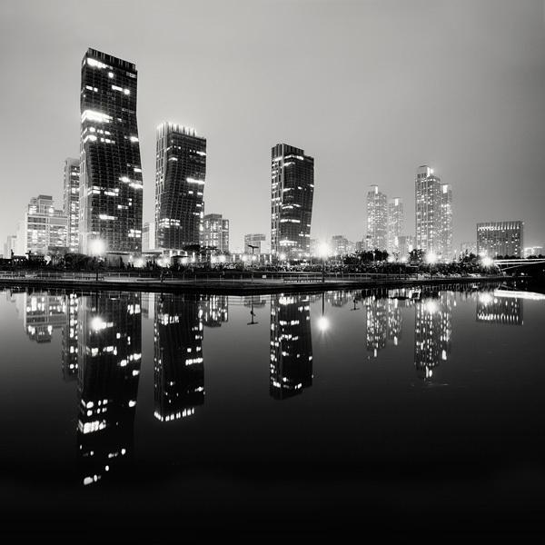 1118 Черно белая красота больших городов
