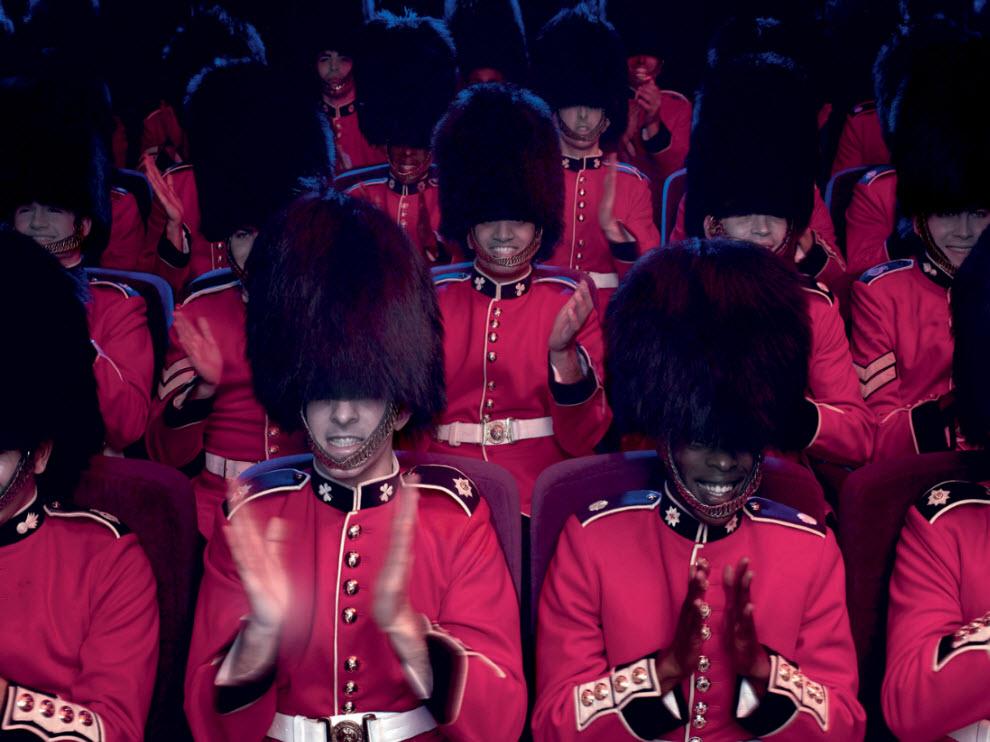 11191 Лондонские гвардейцы готовятся к Олимпиаде