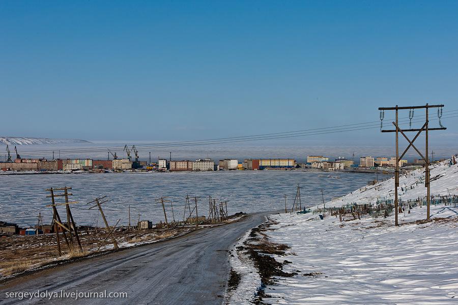 1176 Певек самый северный город России