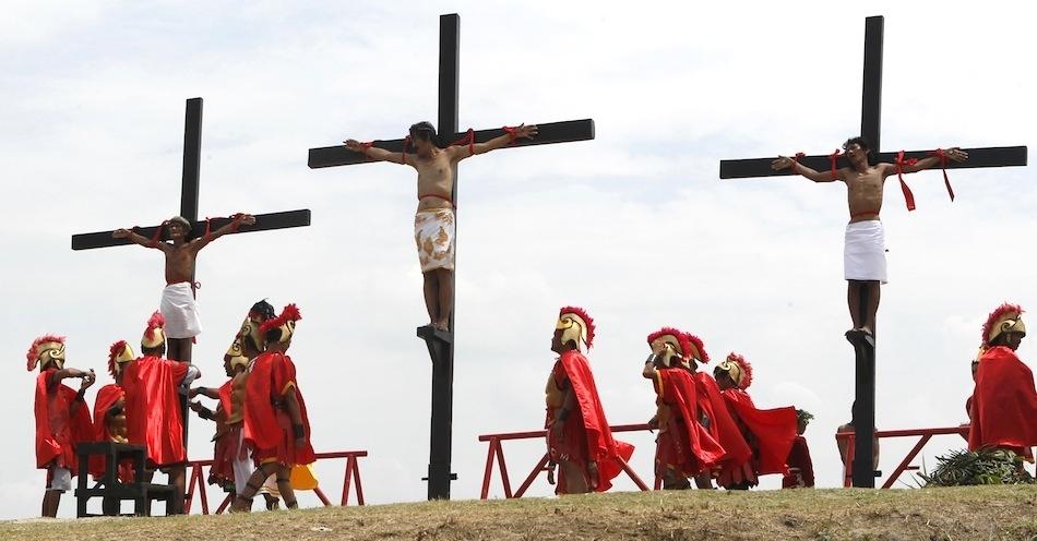 1185 На крест в Страстную Пятницу