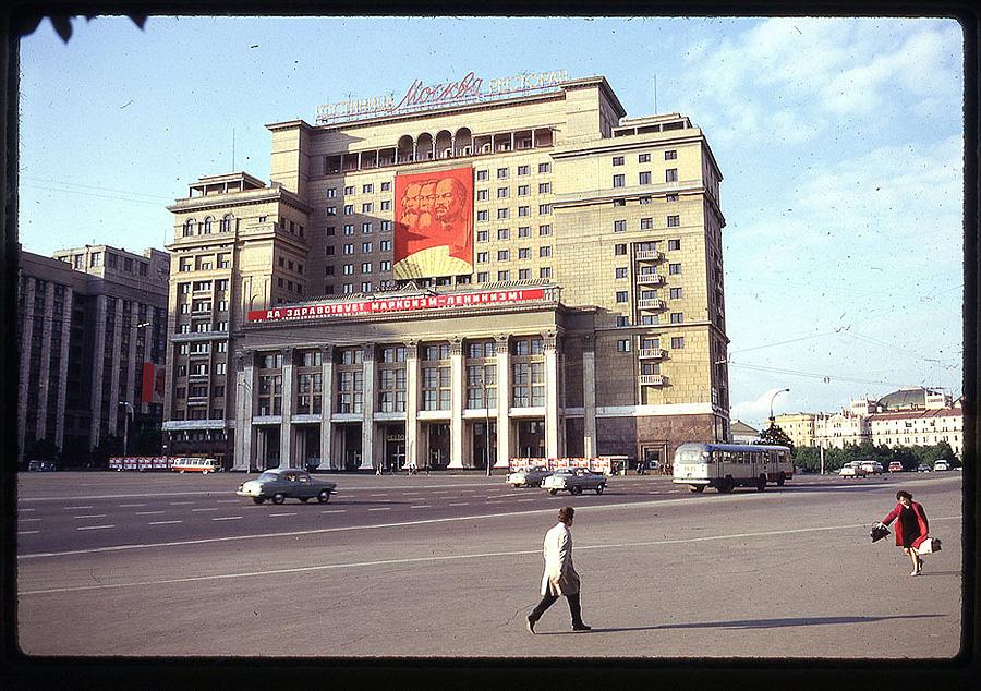 1199 Москва 1969 года в объективе американского фотографа