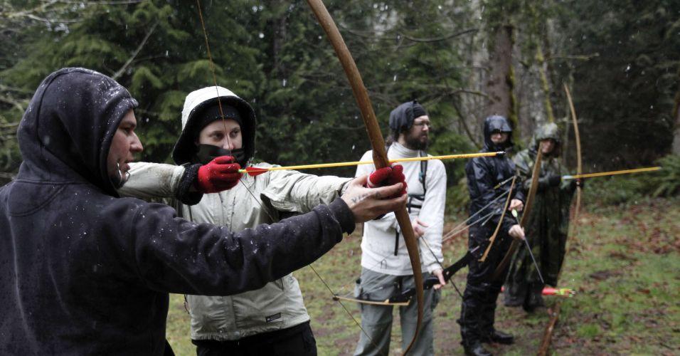 120312 zumbitrainee f 003 В США обучают выживанию после зомби апокалипсиса