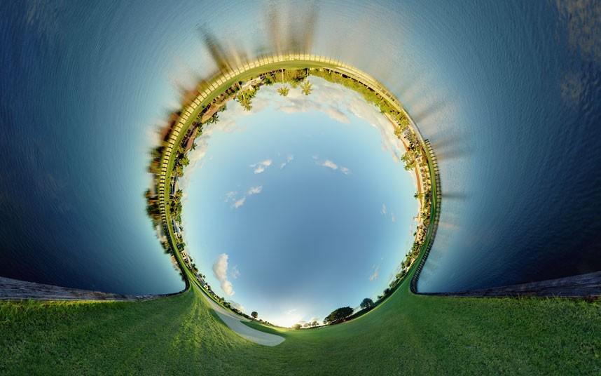 12114 Новый взгляд настарые места: сюрреалистические города