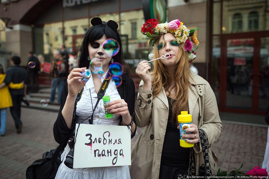 12128 Парад мыльных пузырей или Дримфлеш!