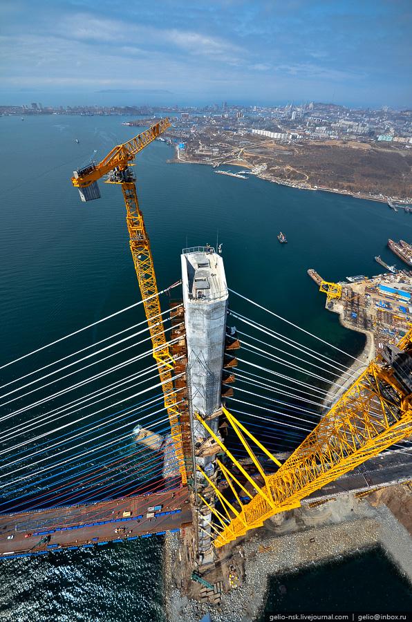 12132 Мост на остров Русский во Владивостоке (Апрель 2012)