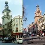 Лондонские улицы 40 лет назад и сейчас