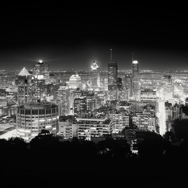 1216 Черно белая красота больших городов