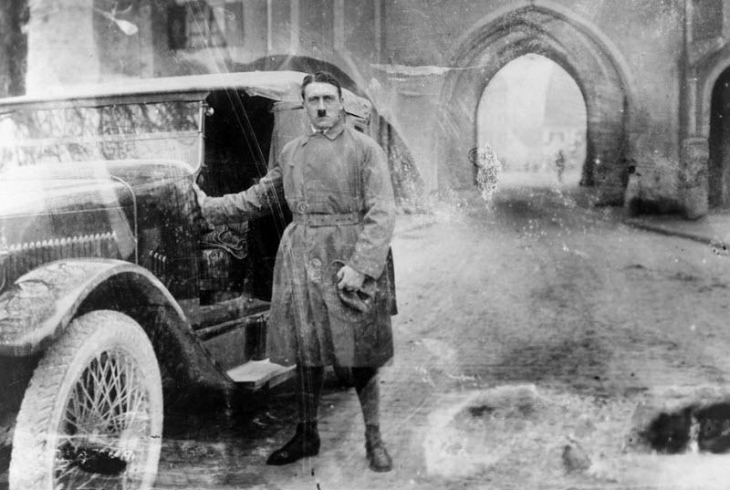 1226 Жизнь Адольфа Гитлера в фотографиях