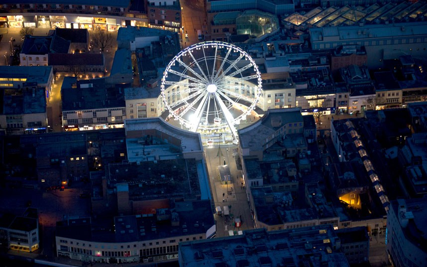 1227 Британские города с воздуха