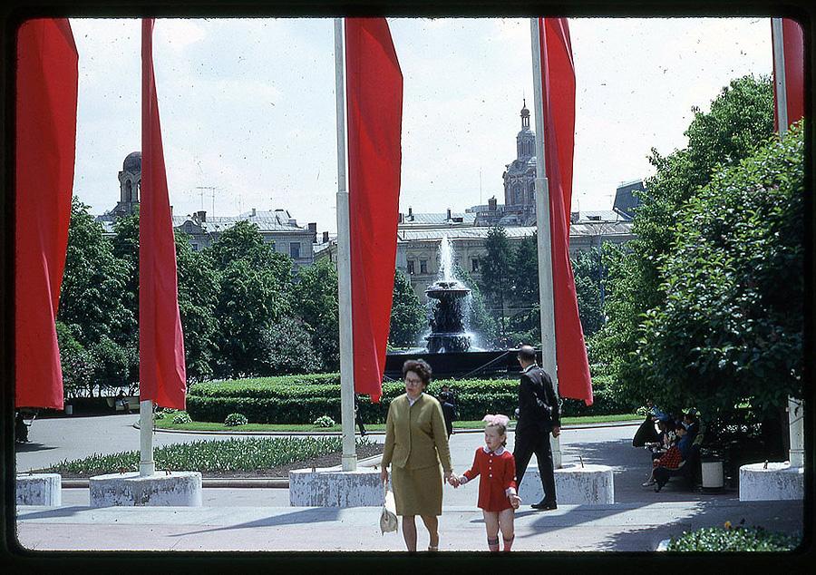 1258 Москва 1969 года в объективе американского фотографа