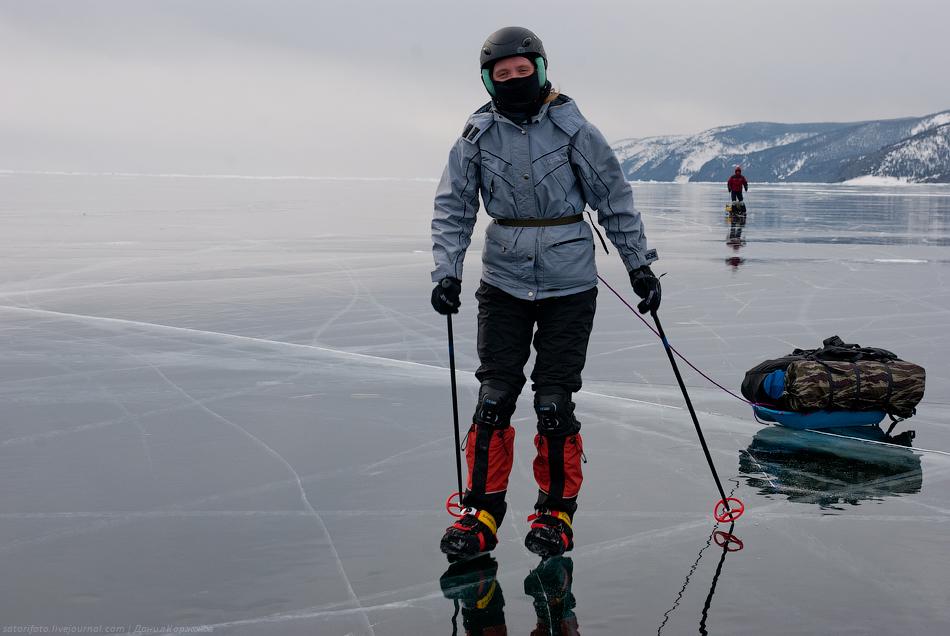 1261 Тонкие струны Байкала или 400 км на коньках