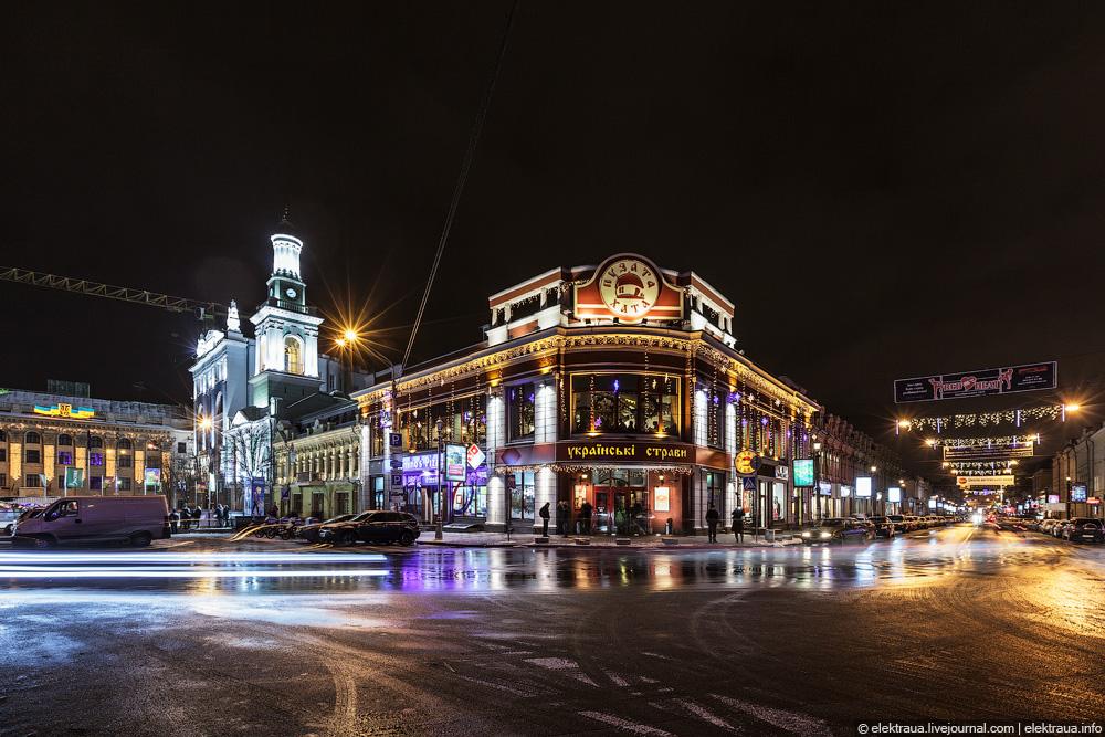 Фото ночные улицы
