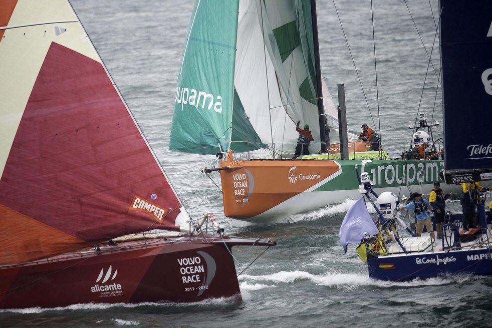 13117 Кругосветная регата «Volvo Ocean Race» направляется в Майями