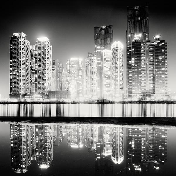 1315 Черно белая красота больших городов