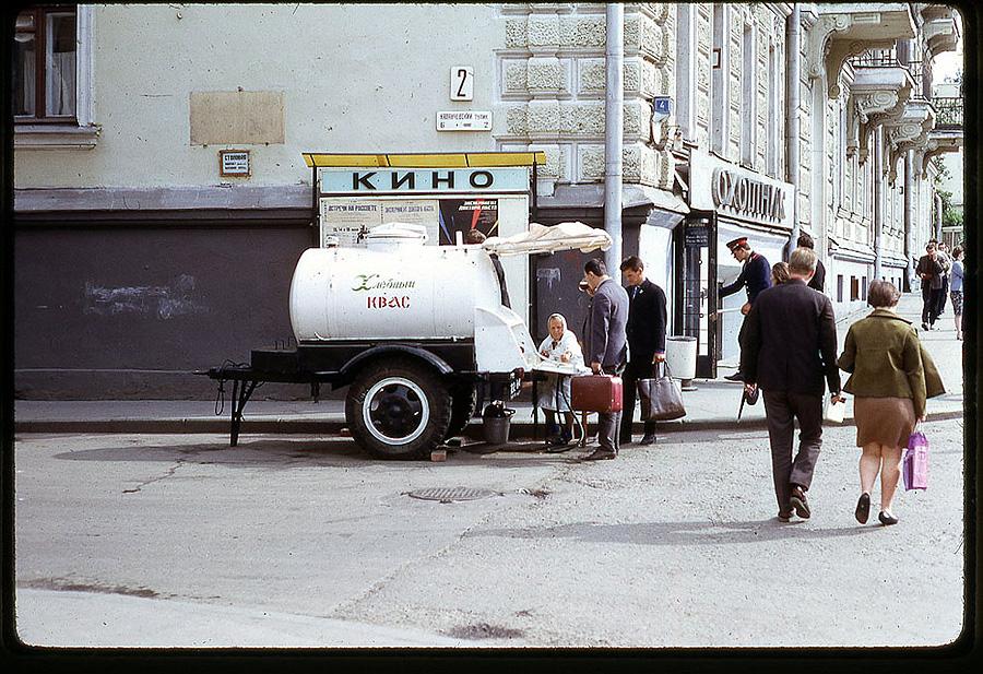 1356 Москва 1969 года в объективе американского фотографа